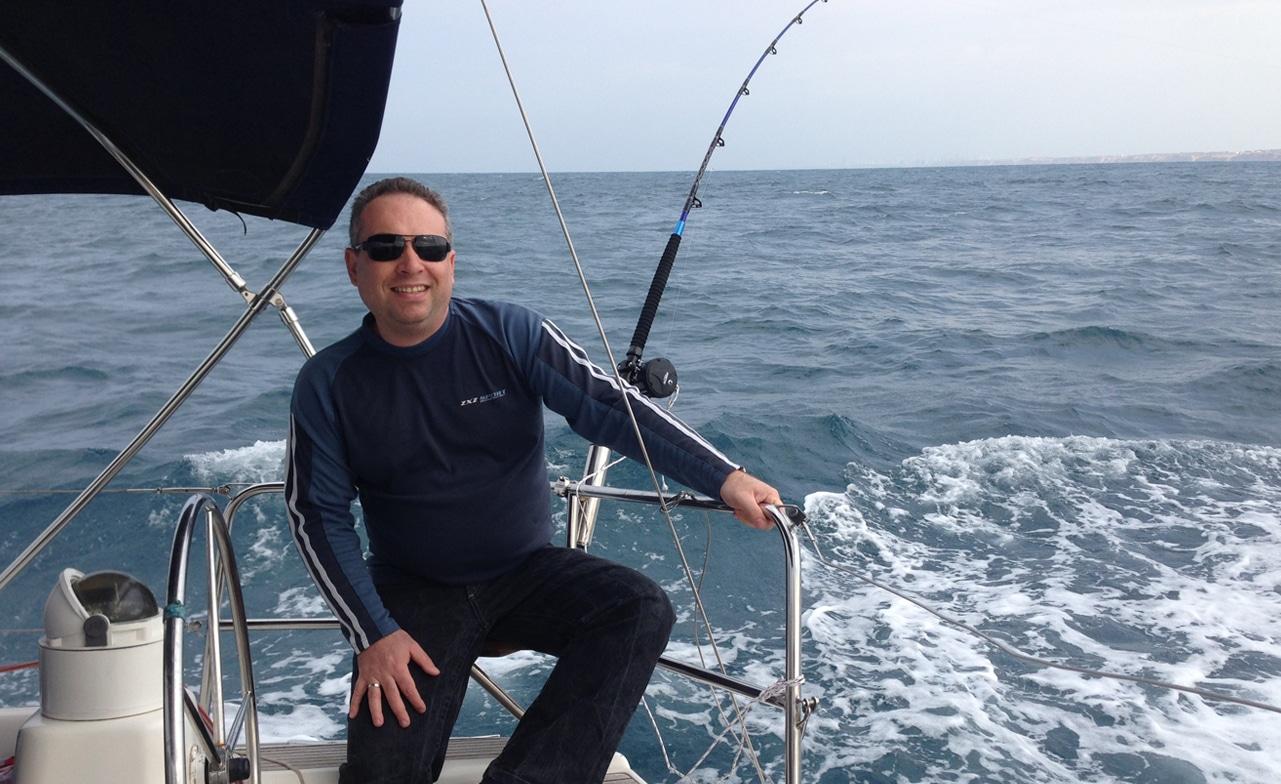 דייג בים הפתוח