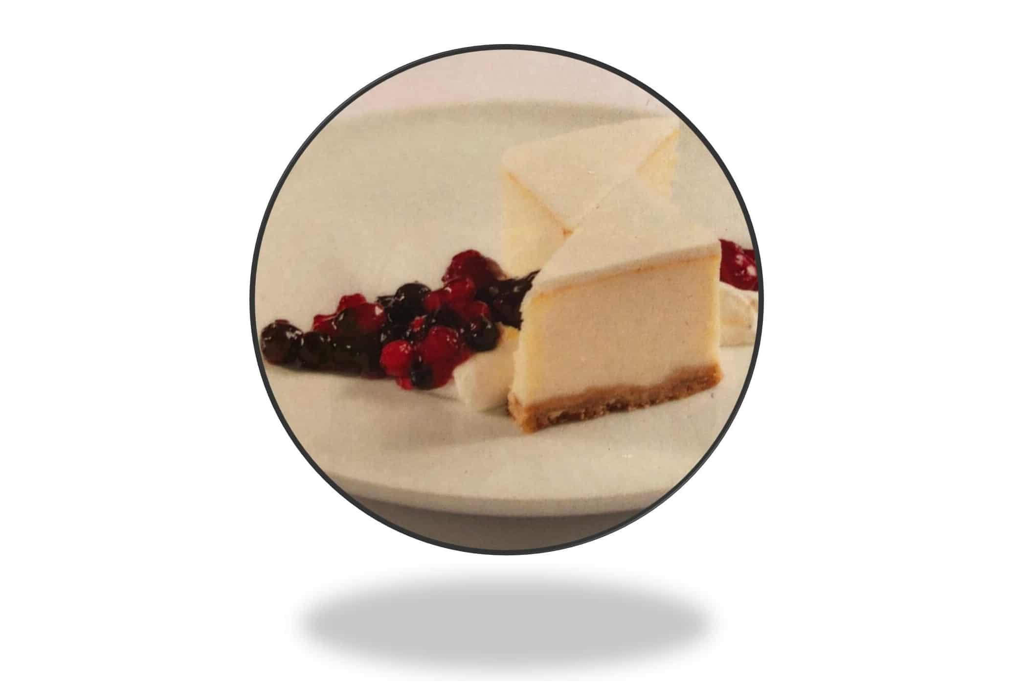 עוגת גבינה על היאכטה