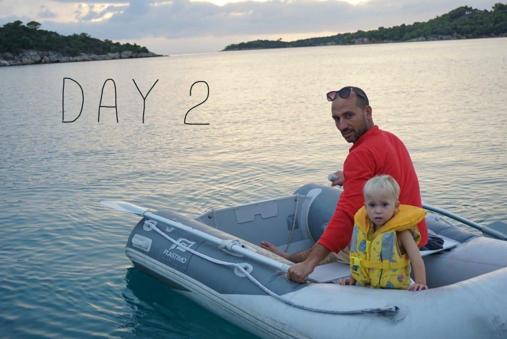 מתחילים את מסע ההפלגה | #DAY 2 | דליברי יוון-ישראל